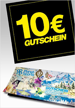 PLANET SPORTS Onlineshop-Gutschein 10,- �