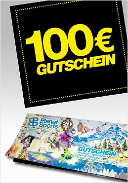 PLANET SPORTS Onlineshop-Gutschein 100,- �