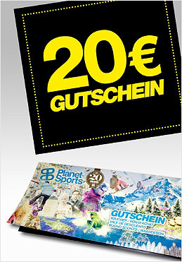 PLANET SPORTS Onlineshop-Gutschein 20,- �