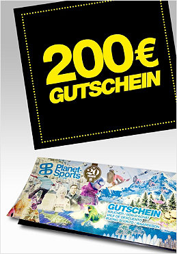 PLANET SPORTS Onlineshop-Gutschein 200,- �