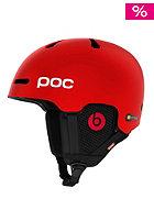 POC Fornix Communication Helmet bohrium red