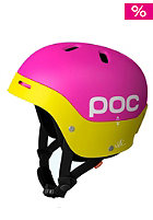 POC Frontal Helmet pink/yellow