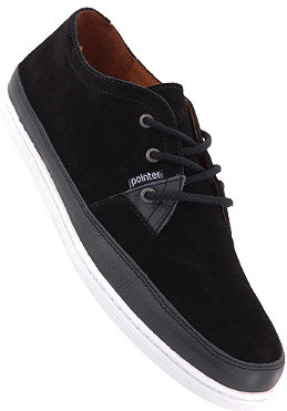 POINTER A.J.S II suede/tumbled leather/black/white