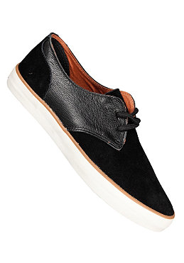 POINTER Chester Suede/Tumbled Leather black/ivory