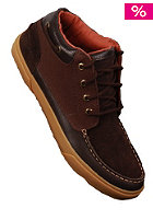 POINTER Taylor suede/canvas leather/dark chocolate/gum