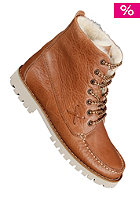 POINTER Womens Farai Waxed Leather copper cream