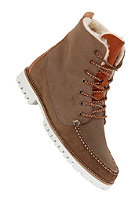 POINTER Womens Farai Waxed Suede/Waxed Leather/Suede elephant/copper white