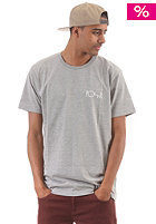 POLAR Fill Logo S/S T-Shirt heather gray/blue