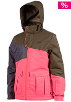 PROTEST Kids Prue B Jacket fluor pink