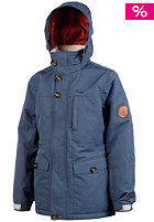 PROTEST Kids Rux Jacket blue petrol