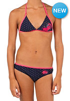 PROTEST Kids Suzy A JR Triangle Bikini Set ink blue
