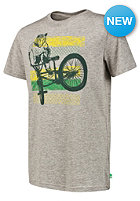 PROTEST Kids Week JR S/S T-Shirt grey melange