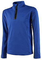 PROTEST Kids Willow 1/4 Zip Sweat bright blue
