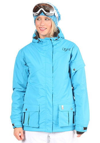 Womens Flood Jacket 2012 electric blue