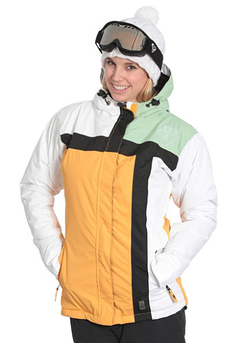 Womens Crusader Jacket 2011 peach/white/lime/black