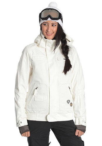Womens Freedom Izumi Jacket powder/white
