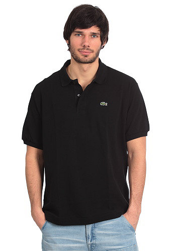 Uni S/S Polo Shirt black