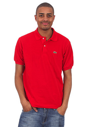 Uni S/S Polo Shirt red