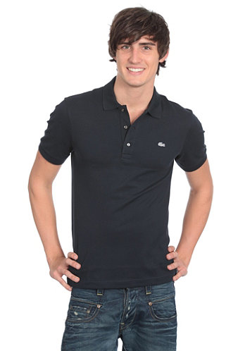 Uni Silver Edition Slim Fit S/S Polo Shirt marine