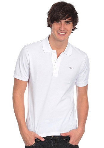 Uni Silver Edition Slim Fit S/S Polo Shirt white