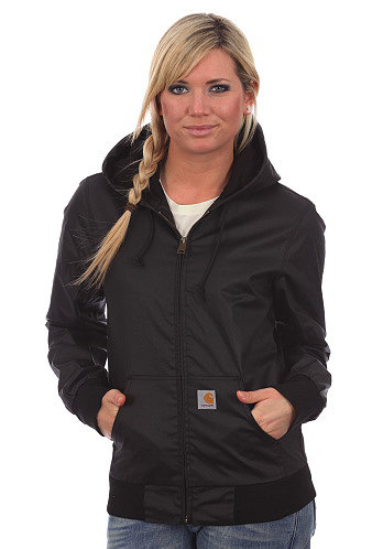 Womens Active Jacket Dull  black