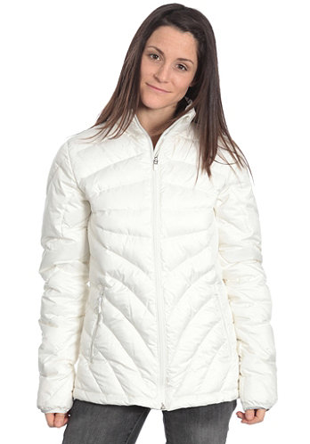 Womens Kasumi C-Down Jacket powder/white