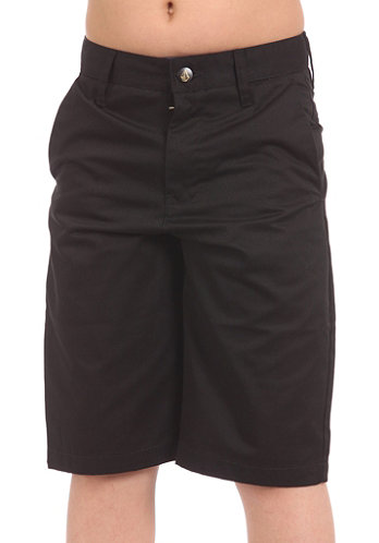 KIDS/ Boys Frickin Too Chino solid Shorts black