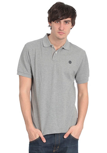 Grand Slam Pique S/S Polo T-Shirt dark grey heather/dark obsidian