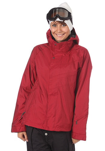 Womens Radiant Jacket crimson-b
