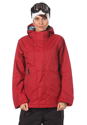Womens Endless Jacket crimson-b