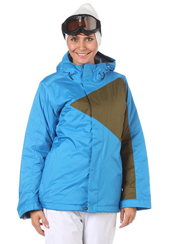 Womens Riley Jacket crystal/herbe