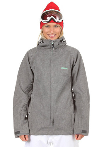 Womens Lina Softshell Jacket 2012 heather grey