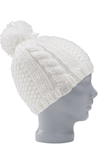 KIDS/ Girls Katie Joe Beanie 2012 bright white