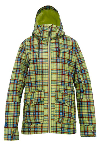 Womens Method Jacket 2012 aloe gypsy plaid