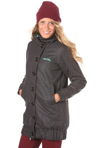 Womens Relax Jacket charcoal melange
