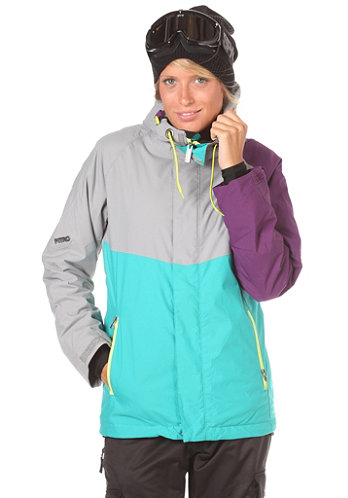 Womens Limelight Jacket 2012 storm/turquoise/purple