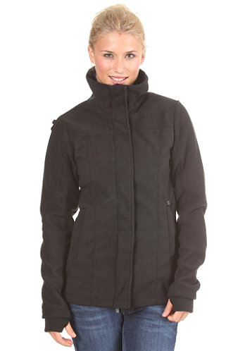Women Infinite Fleece Jacket black/charcoal BLE 2904