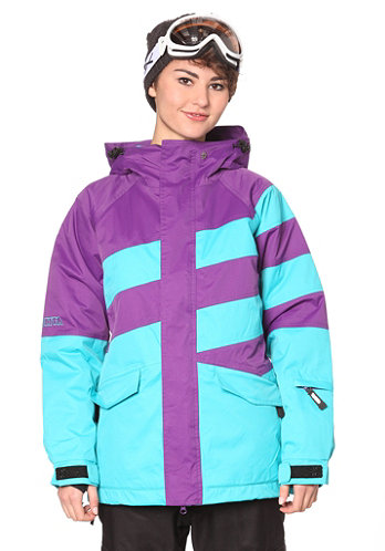 Hurricane Jacket purple magic/scuba blue