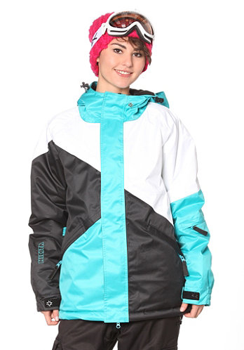 Jumbo Jacket scuba blue/black/white