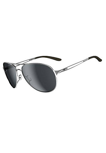Womens Caveat polished chrome/grey