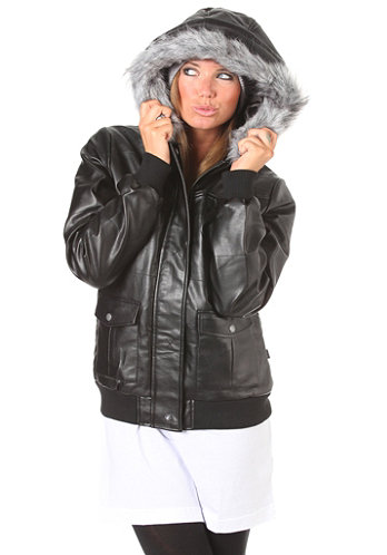 Womens Lived In Jacket black
