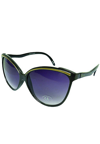 Womens Cateyes Sunglass java