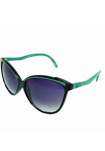 Womens Cateyes Sunglass onyx