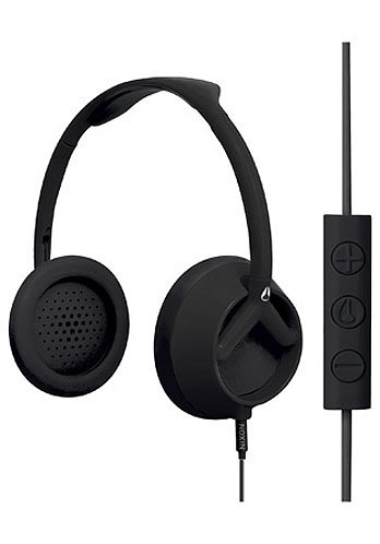 Trooper 3 Button Headphones 2011 matte black