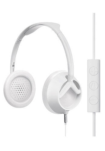 Trooper 3 Button Headphones 2011 matte white