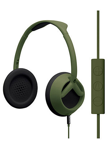 Trooper 3 Button Headphones 2011 matte surplus
