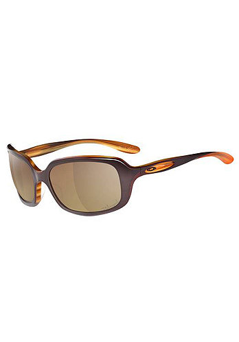 Womens Disguise stripped plum/bronze polarized