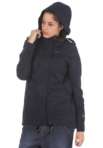 Womens Laika Woven Jacket total eclipse