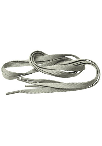 Tube Laces 140cm lt. grey