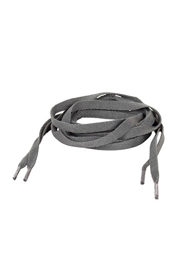 Tube Laces 120cm dark grey